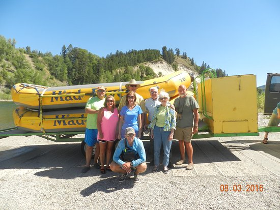 Mad River Boat Trips: Our group