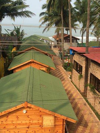 Anjuna, อินเดีย: The Aerial View of Ocean View Resort,Goa