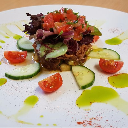 Cutty Sark : A Duck salad from our specials menu