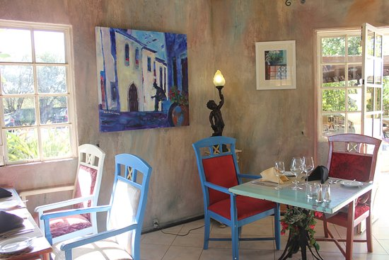 Restaurante Aquarelle : Photo taken just before lunchtime.