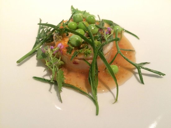 geranium signature dish flavours of the ocean beach plants brown butter