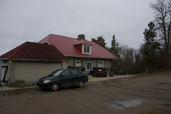 Slave Lake, Canada: Front of the property