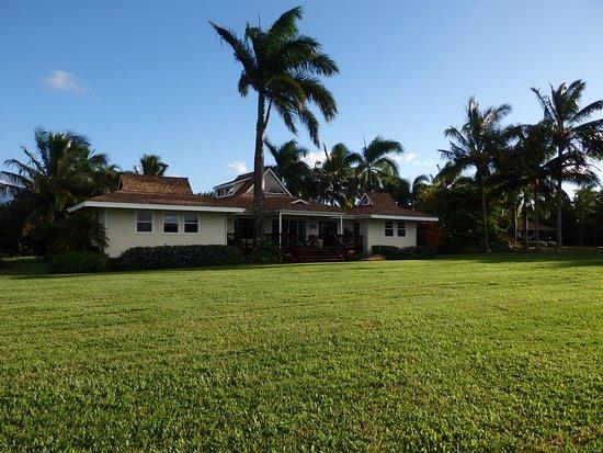 Haiku, Havai: Ocean side of house