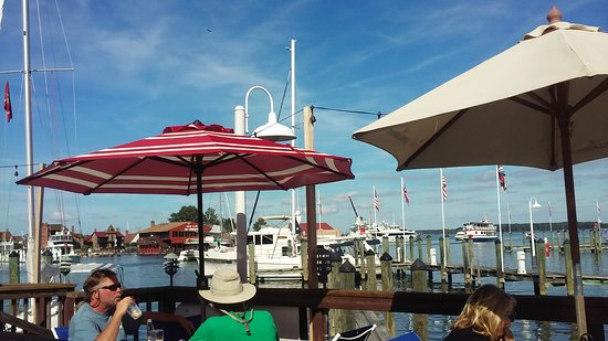 Town Dock Restaurant: View from back patio