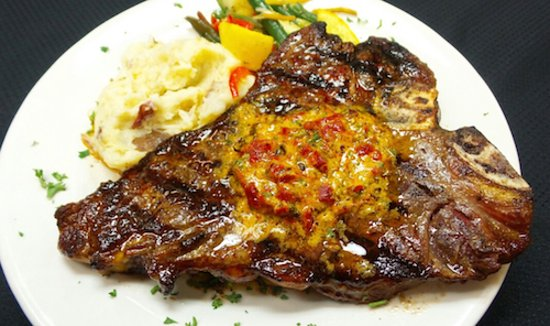 bone steaks with black pepper butter more steak recipes grilled ...