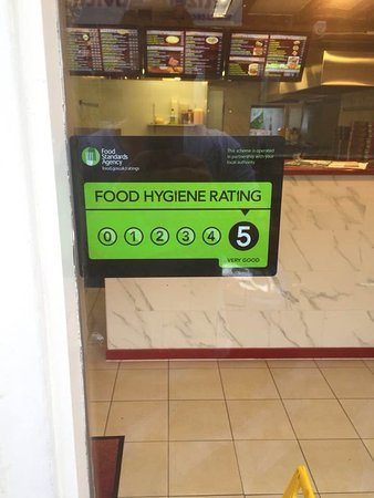 portobello 5 star food hygiene rating