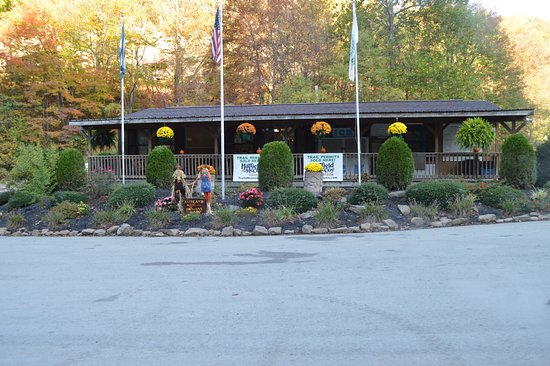 Northfork, WV: The well equipped store on site