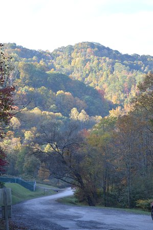 Northfork, WV: Our view when exiting the park in the mornings