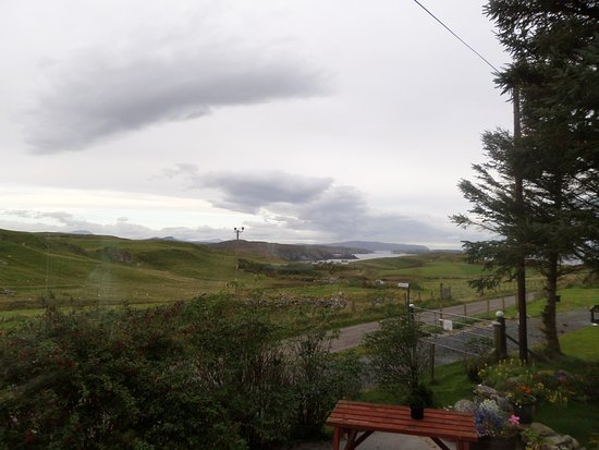 Bettyhill, UK: View from dining area