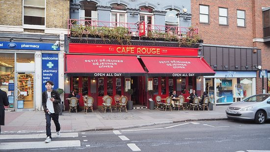 Cafe Rouge Hampstead High Street
