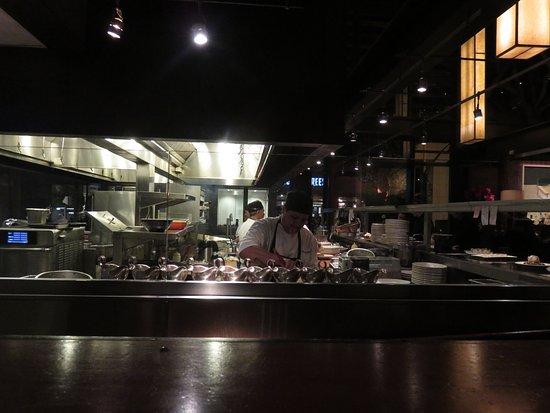 The Open Kitchen - Picture of Hillstone Restaurant, Santa ...