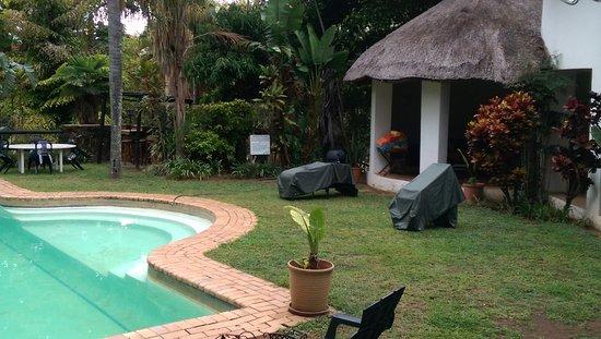 Kiepersol, Sydafrika: pool area