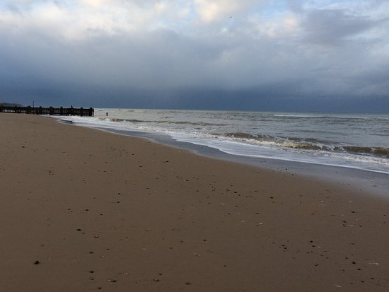 Bacton, UK: Beautiful even when cold