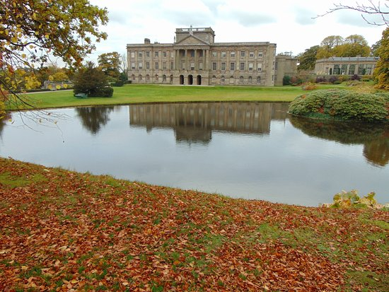 Lyme Park: View of House inside the Gardens