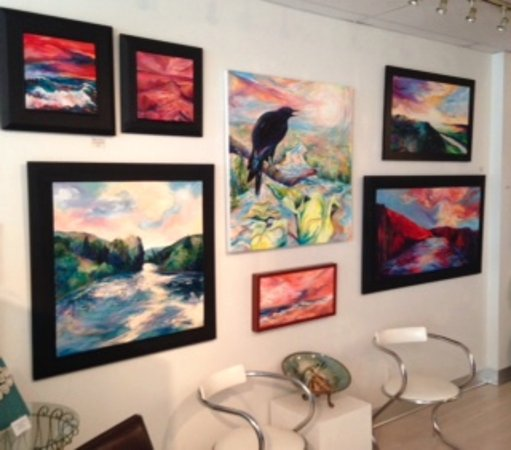 Milford, DE : Paintings inside Gallery 37: A Destination for Artful Living