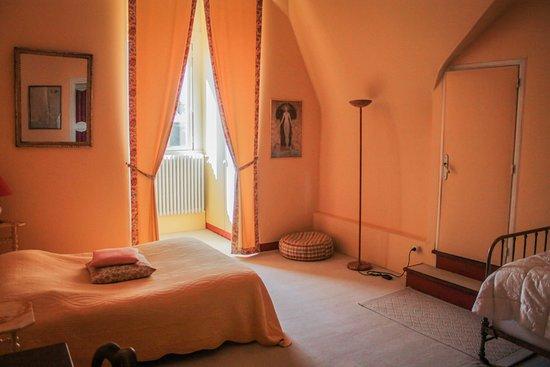 Buzancais, Francia: Petite chambre appartement Florence