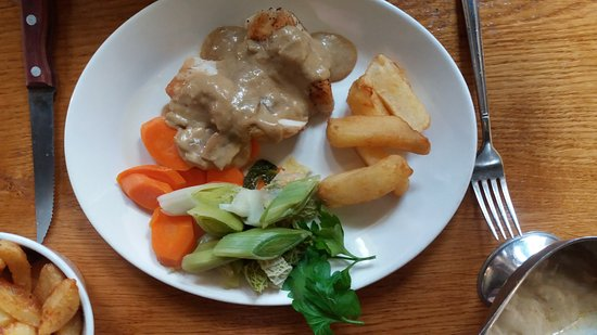 Ellerby, UK: Chicken Diane