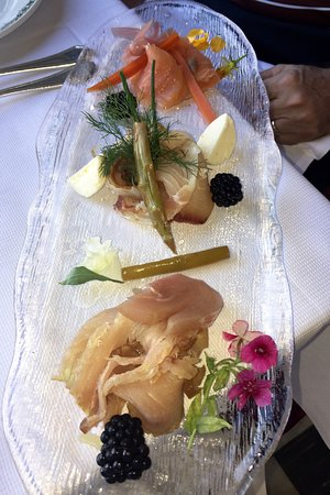 La Loggia Restaurant : Smoked fish appetizer