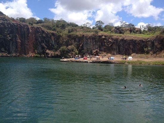 Lagoa Azul : Vista linda
