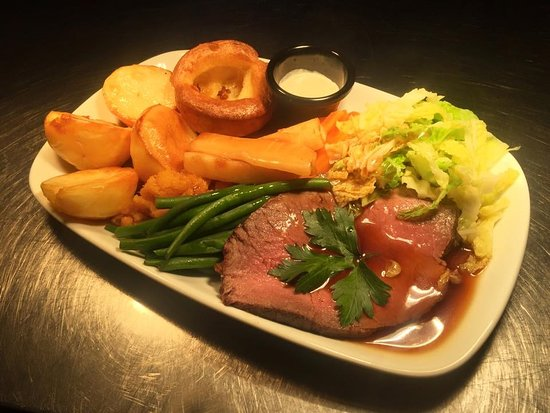 Rustington, UK: Roast Beef