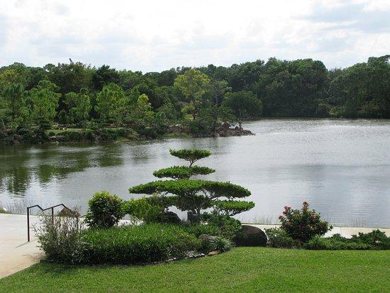 Morikami Museum & Japanese Gardens: Entrance into gardens