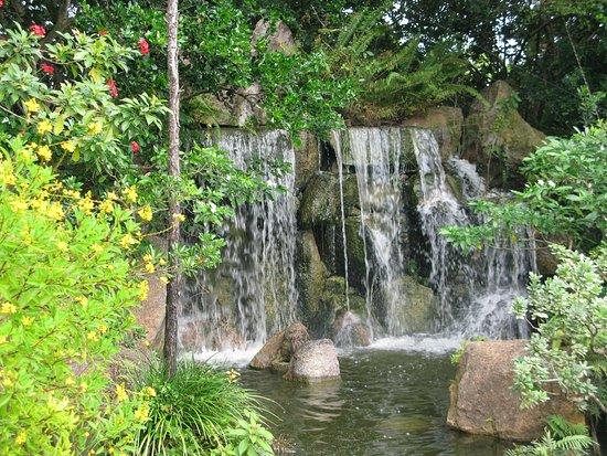 Morikami Museum & Japanese Gardens: Waterfall
