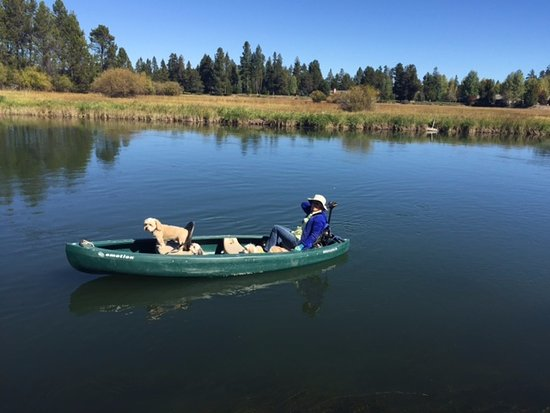 Fishing Boat from Toy House Rentals in Sunriver, OR