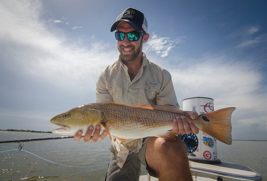 Edgewater, FL: Lots of redfish tailing this summer resulted many firsts for my anglers.