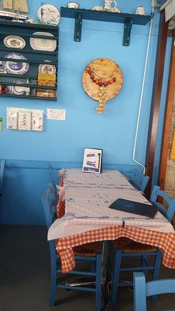 Gialos, Greece: Part of internal decoration