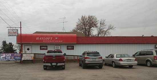 Saint Cloud, MN: The exterior of the Hayloft Bar and Grill