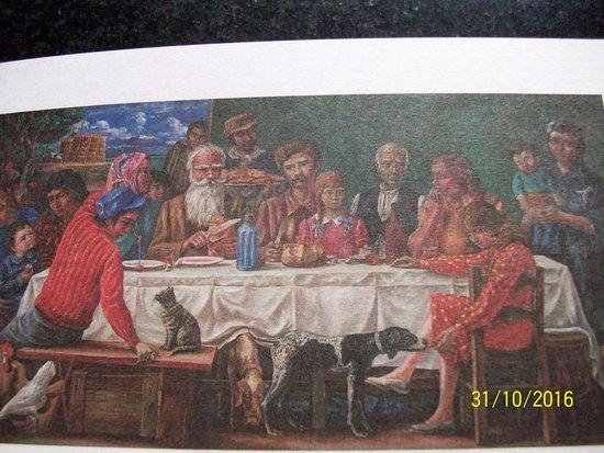 "Coleccion de Arte Amalia Lacroze de Fortabat: Antonio Berni, ""El almuerzo""."