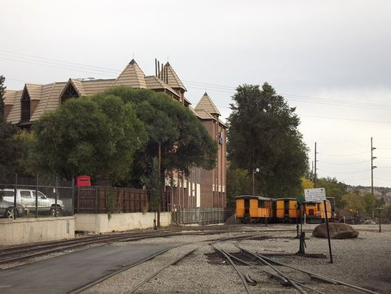 Wyndham Durango next to the train depot and museum