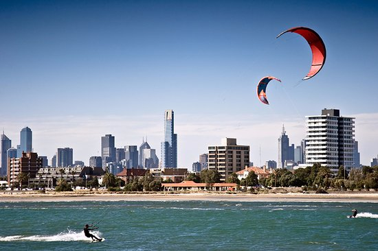 West Beach Bathers Pavilion: Watch the kite surfers from the Pavilion
