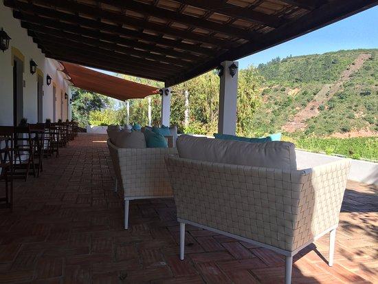 São Bartolomeu de Messines, Portugal: Acesso aos Quartos e Terraço