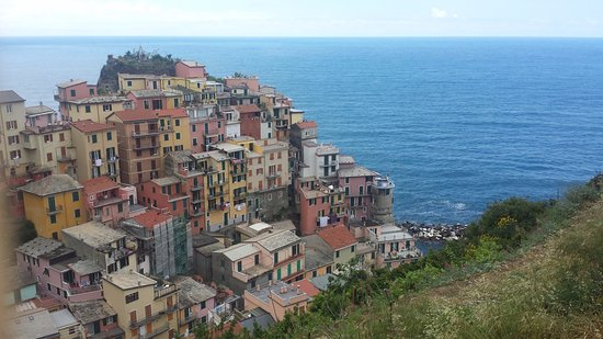 Casarza Ligure, İtalya: One of the spectacular views from Hiking the Hills between the cities