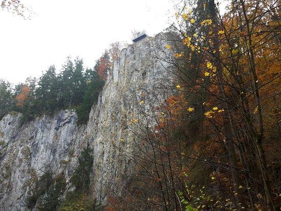 South Moravian Region, Tjeckien: Pohled z dolního můstku