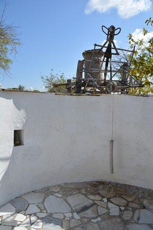 Guludo Beach Lodge: Raffinierte Duschkonstruktion