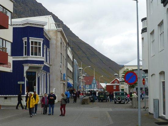 Isafjordur, Iceland: Town Center.