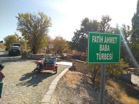 Harput, تركيا: Fetih Ahmet Baba Türbesi