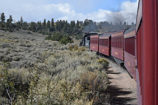 Cumbres & Toltec Scenic Railroad: 1/2hour out of Antonito