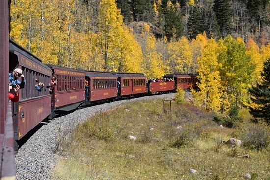 Cumbres & Toltec Scenic Railroad: The Aspins' are so beautiful