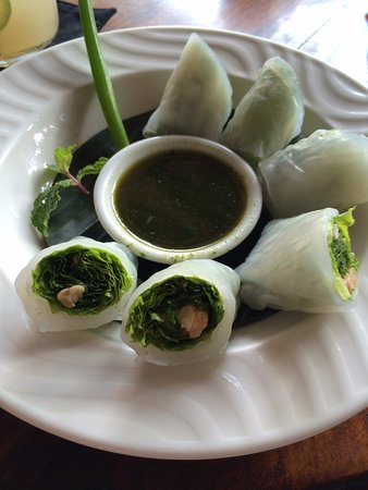 Cinta Grill And Inn The Best Rice Paper Rolls