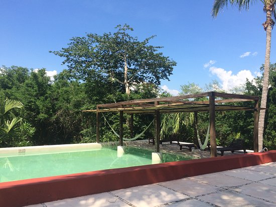 Tixkokob, Mexico: The swimming pool