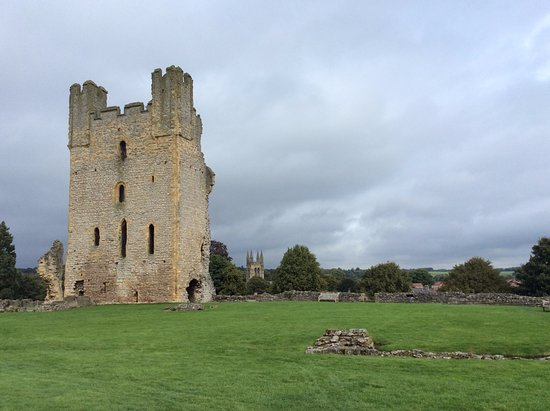 Helmsley, UK: The mighty keep which Cromwell's troops had to blast through