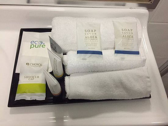 Quality Inn Penrith: Toiletries