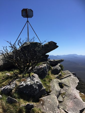 Dunkeld, Australia: This is the Top of Mount Abrupt