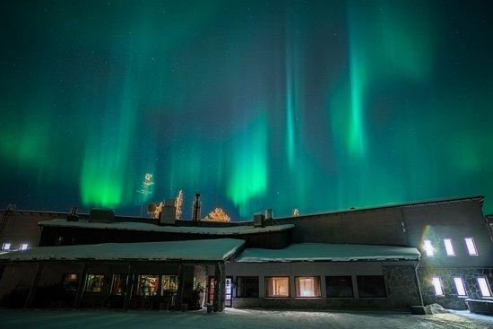Luosto, Finland: Hotel Aurora main building