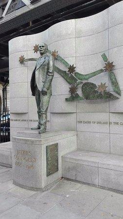 James Connolly Memorial Statue: James Connolly