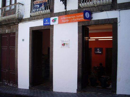 Icod de los Vinos, Spain: Офис для туристов