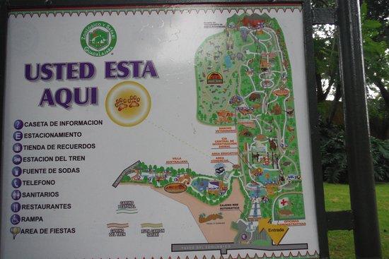 mapa Picture of Zoologico Guadalajara Guadalajara TripAdvisor